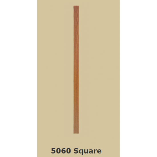 Wood Stair Balusters - Square - 5060