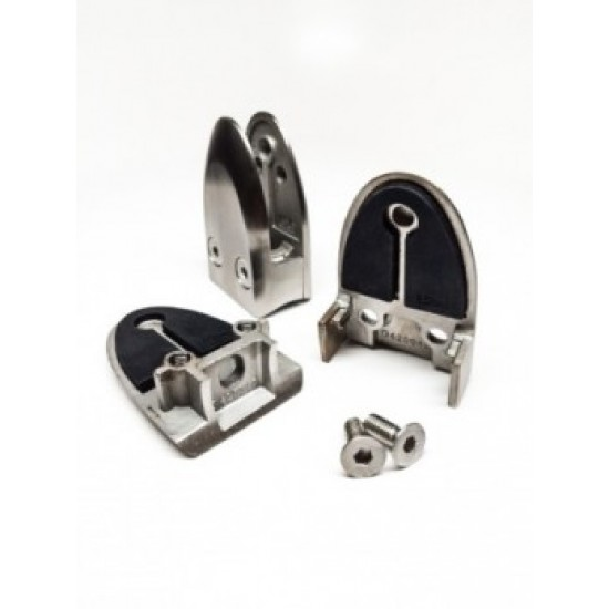 Glass and Cable Stair  Parts - Glass Clamps - 13.2300