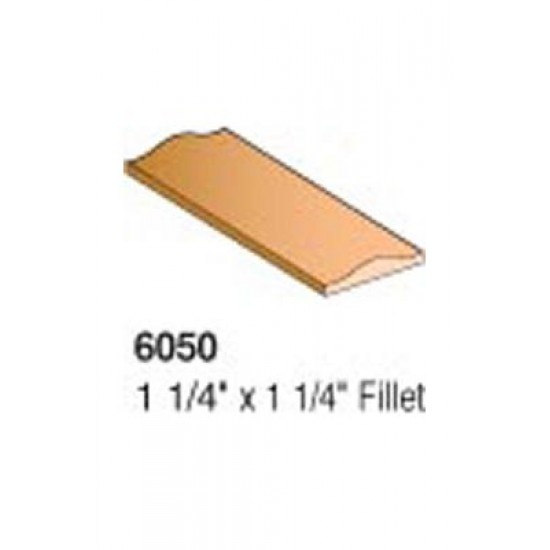 Wood Stair Parts - Wood Handrail & Trim - 6050 Fillet