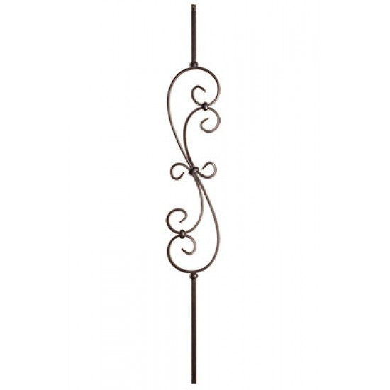 Wrought Iron Balusters - Tubular Balusters - HF16.1.25-T