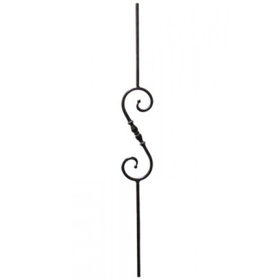 Wrought Iron Balusters - Hand Forged Series - HF2.1.6