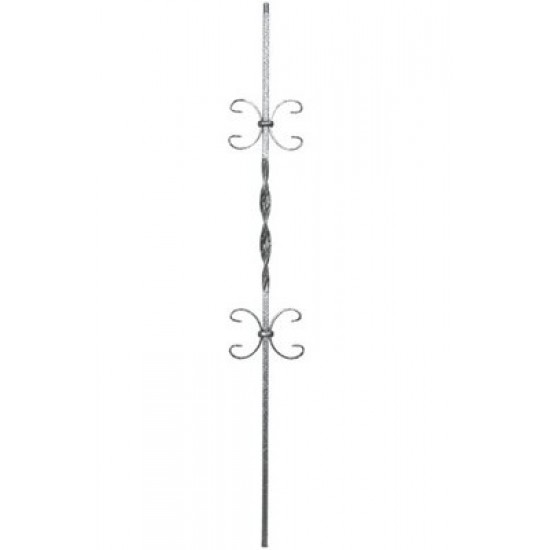 Wrought Iron Balusters - Ribbon Series - HF16.1.11