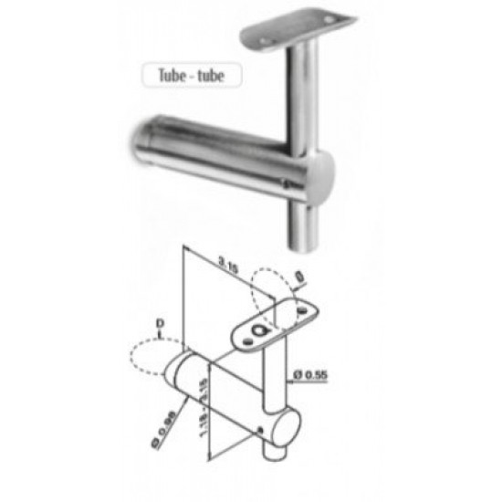 Rail Brackets - Stainless Steel Brackets - 13.0139