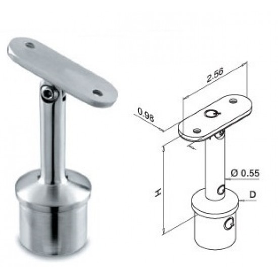 Stainless Steel Brackets - 13.0706